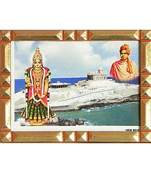 Kanyakumari, Swami Vivekananda - Table Top Picture