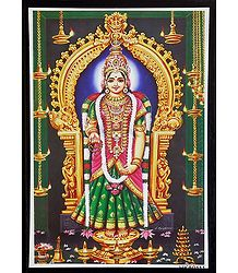 Kanyakumari on Laminated Board - Wall Hanging