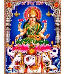 Vaibhav Lakshmi - Poster
