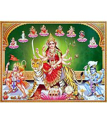 Nava Durga Poster