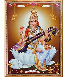 Shop Online Saraswati Poster