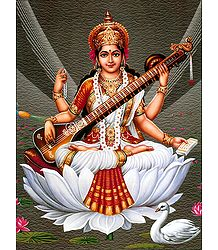 Buy Saraswati Poster