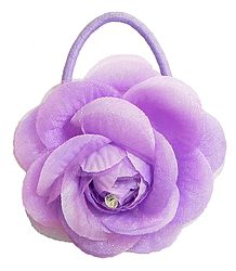 Light Mauve Rose Hair Band (can be used as Brooch also)