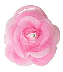 Light Pink Rose Hair Band (can be used as Brooch also)