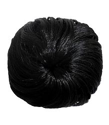 Black Hair Bun