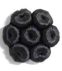 Synthetic Designer Hair Bun