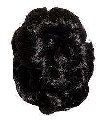Stone Studded Designer Clip-on Hair Extension