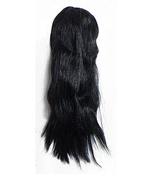 Synthetic Hair Extension on Comb