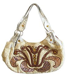 Designer Beaded and Sequined Bag