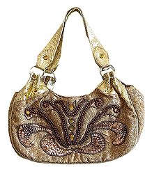 Beaded and Sequined Bag