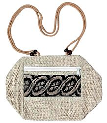 Designer Bag with Two Zipped Pocket