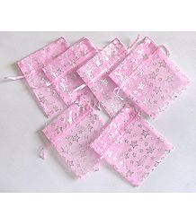Set of 6 Pouches