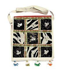 Cowrie Studded Bag
