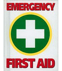 Emergency + First Aid Book