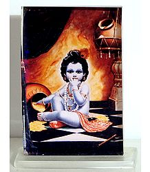 Bal Gopala - Acrylic Table Stand