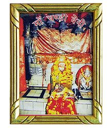 Maa Chandi Devi - Framed Picture