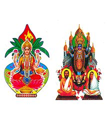 Lakshmi, Kali Sticker