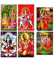 Hindu Gods and Goddesses Stickers