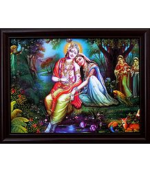 Secret Rendezvous of Radha Krishna