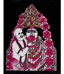 Tarapith Kali - Wall Hanging