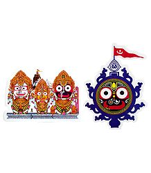 Hindu Deity Pictures on Sticker