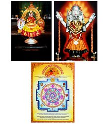 Lakshmi, Kali and Sai Chakram - Set of 3 Posters