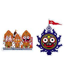 Jagannath Pictures on Sticker
