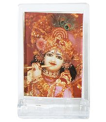 Lord Krishna - Acrylic Table Stand