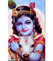 Cowherd Krishna - Laminated Table Top