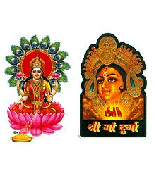 Hindu Picture on Sticker