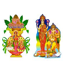 Deity Picture on Sticker