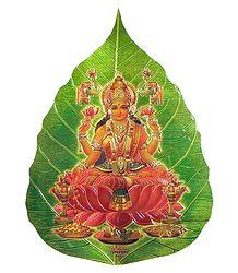 Buy Lakshmi on Pipul Leaf - Sticker