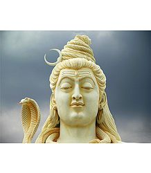 Face of Lord Shiva