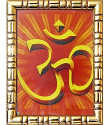 Buy Framed Om Picture