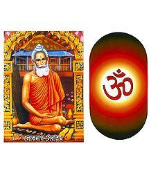 Set of 2 Hindu Stickers