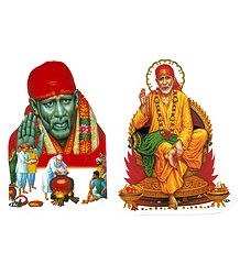 Shirdi Sai Baba Image on Sticker