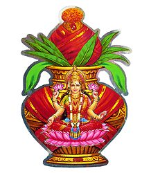 Buy Hindu Picture on Paper Sticker