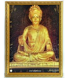 Swaminarayan - Framed Poster