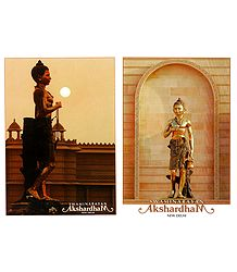 Swaminarayan in Akshardham Temple, New Delhi - 2 Small Posters