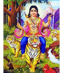 Lord Ayyappan Poster