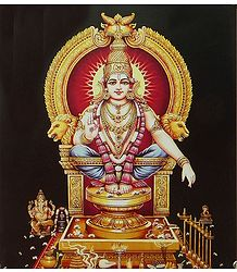 Lord Ayyappan - Son of Shiva and Mohini