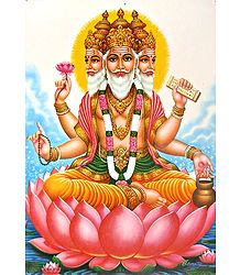 Lord Brahma - Poster