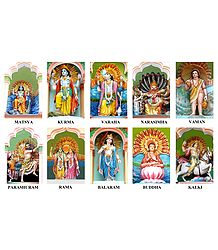 Dashavatar - Ten Incarnations of Lord Vishnu