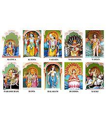 Dashavatar - Ten Incarnations of Lord Vishnu
