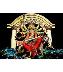 Photo Print of Goddess Durga
