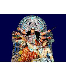 Photo Print of Mahishsuramardini Devi Durga