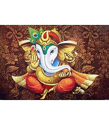Lord Ganesha - Unframed Poster