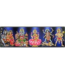 Hindu Deities - Poster