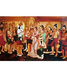 Wedding of Lord Rama and Sita - Poster