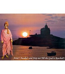 Sunrise at Vivekananda Rock Temple